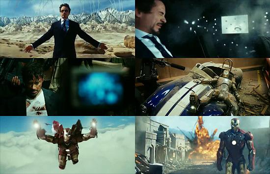 【3DCG】 前回から一部修正 映画『IRON MAN(アイアンマン)』第2弾トレーラーとポスター