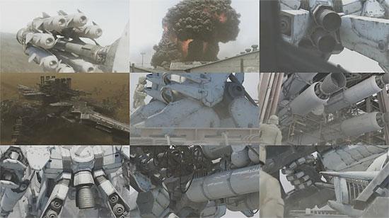 【3DCG】 巨大ロボットらしい質感 ゲーム『ARMORED CORE for Answer』ムービー