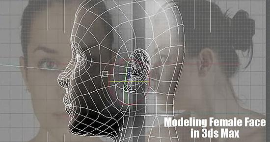 【3DCG】 モデリングビデオチュートリアル 『Modeling Female Face』