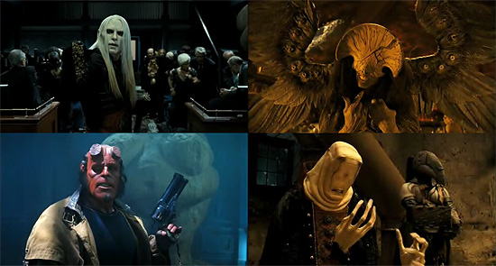 【その他】 パンズラビリンスの監督 映画『Hellboy II(ヘルボーイ2)』予告編