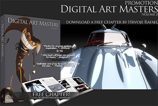 【3DCG】 Digital Art Mastersのフリーチャプター 9/10
