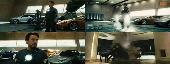 【3DCG】 プロトタイプの場面?2分間の『IRONMAN』トレーラー