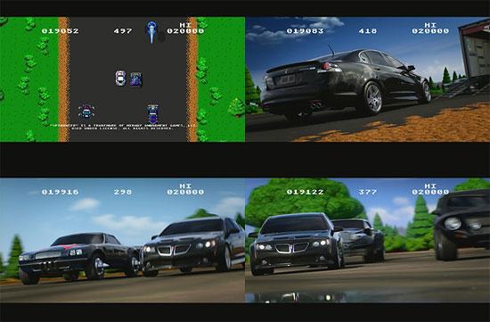 【3DCG】 8bitのレースが超リアルなレースへ『Pontiac(ポンティアック)』のCM