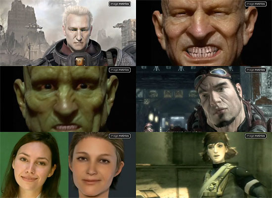 【3DCG】 微妙な表情まで再現『Image Metrics』のフェイシャルキャプチャー技術