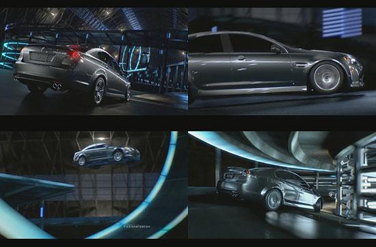 【3DCG】 車の挙動が超リアル『Pontiac』のCM