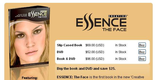 【3DCG】 デジタルダブル本『ESSENCE The FACE』を購入してみた。注文方法篇