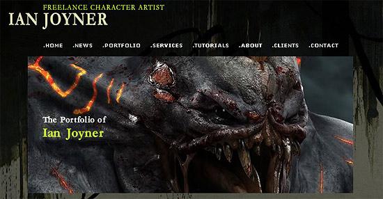 【3DCG】 Blur Studio所属に所属していた『Ian Joynar』氏のウェブサイト