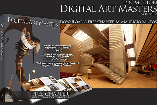 【3DCG】 Digital Art Masters2のフリーチャプター 『Mauricio Santos』