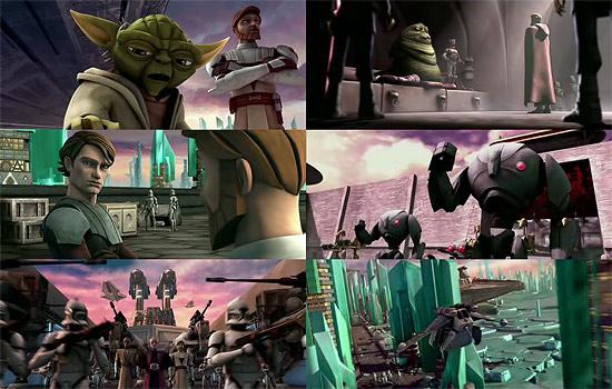 【3DCG】 3DCG版スターウォーズ 『Star Wars: The Clone Wars(スターウォーズ:クローンウォーズ)』トレーラー