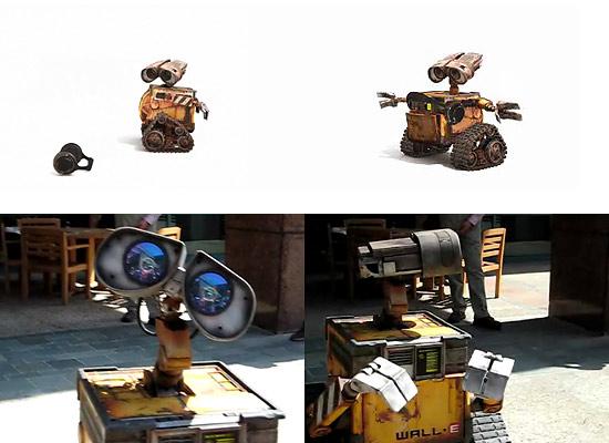 【3DCG】 Pixar『WALL-E(ウォーリー)』 ヘッドフォンと初めて出会ったショートムービー