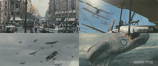 【3DCG】 Pixomondoによる映画『The Red Baron』VFXデモリール
