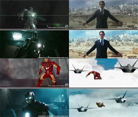 【3DCG】 早くも登場!映画『IRONMAN(アイアンマン)』のアニマティクス