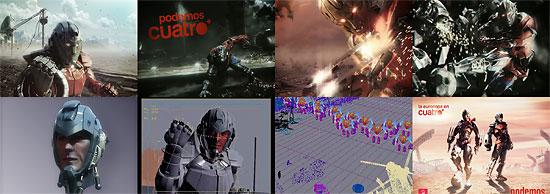 【3DCG】 UEFA Euro 2008のプロモーション作品『cuatrobots』とそのメイキング