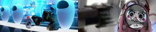 【3DCG】 WALL-Eの可愛さっぷりとSっぷりも!PIXAR『WALL-E(ウォーリー)』45秒 X 6つのムービー