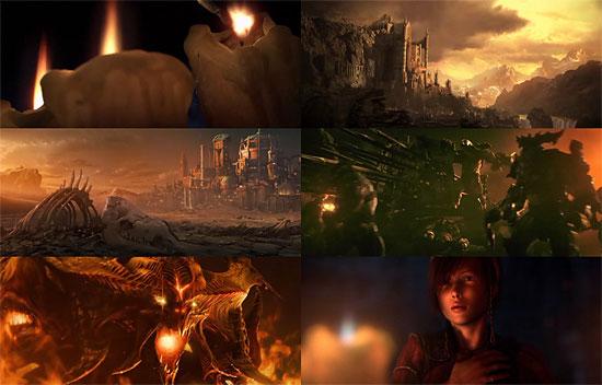 【3DCG】 PCゲーム『Diablo3 (ディアブロ3)』のトレーラとコンセプトアートが公開される