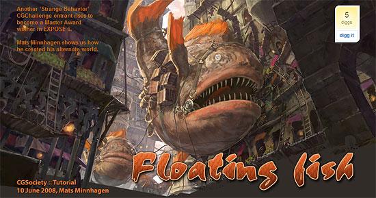 【2DCG】 EXPOSE 6に掲載された作品『Floating Fish』のメイキング