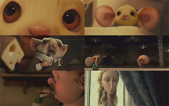 【3DCG】 ネズミのおっきな瞳がキャッワッイイ~『THE TALE OF DESPEREAUX(邦題:ねずみの騎士デスペローの物語)』トレーラー