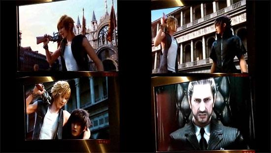 【3DCG】 モニターの右下に撮影禁止の文字が…PS3『Final Fantasy Versus XIII』 直撮りムービー