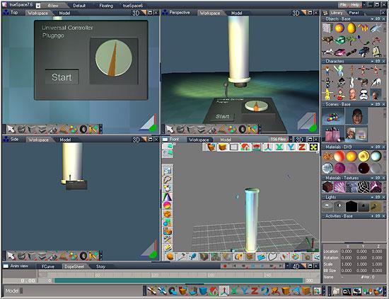 【3DCG】 Microsoft、本格3Dグラフィック作成ソフト『trueSpace』を無償化