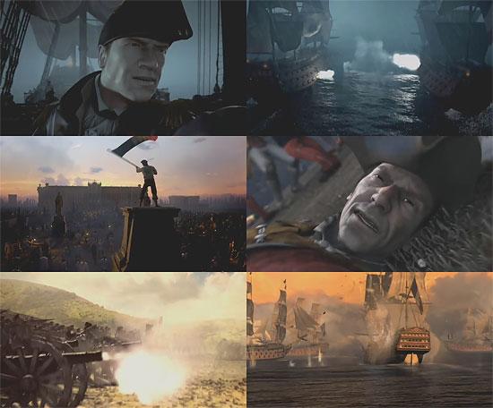 【3DCG】 E3 2008で公開されたゲーム『EMPIRE TOTAL WAR』ムービー