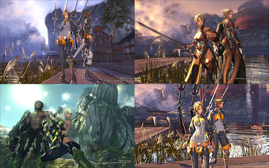 【3DCG】 キム・ヒョンテ氏の絵がうまく3D化! PCゲーム『ブレード&ソウル(Blade&Soul)』