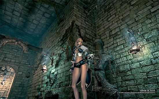 【3DCG】キム・ヒョンテ氏の絵がうまく3D化!PCゲーム『ブレード&ソウル(Blade&Soul)』