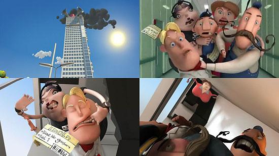 【タレコミ】 ノルウェー発の CG動画『Kurt Blir Grusom』