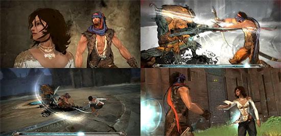 【3DCG】 トゥーンもモーションも奇麗なゲーム『Prince of Persia』