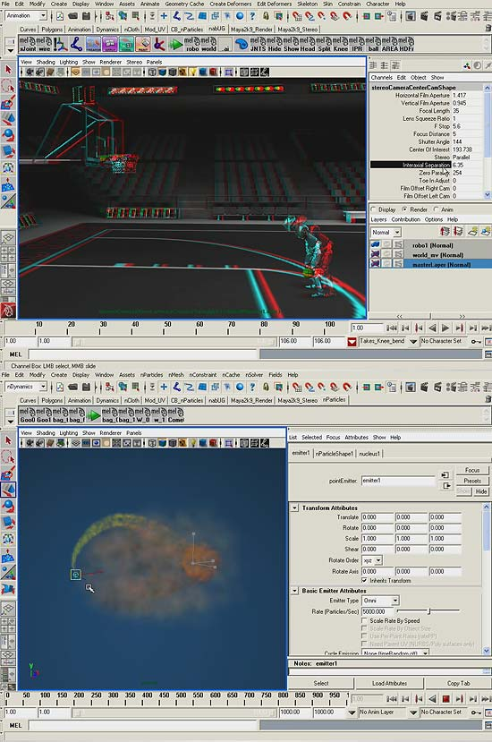 【3DCG】 Autodesk Maya2009の機能をざらっと紹介!『Maya 2009 Features』