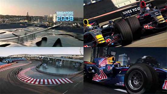 【タレコミ】 F1のCGムービー『SINGAPORE STREET CIRCUIT』