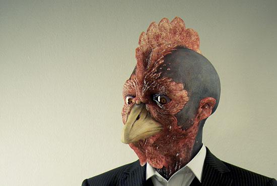【3DCG】 キモイし。スゴイし。スーツ姿のトサカ男 『RoosterMan!』
