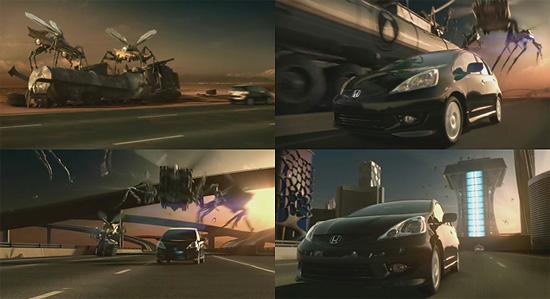 【タレコミ】 燃費の良さを表現。自動車メーカーHONDA『Fit』の海外のCM
