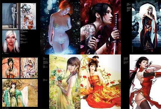 【その他】 海外キャラクターCG作品集『EXOTIQUE 4』が本家サイトで予約開始