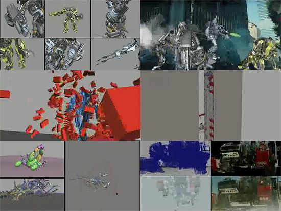 【タレコミ】 映画『トランスフォーマー』のメイキング動画