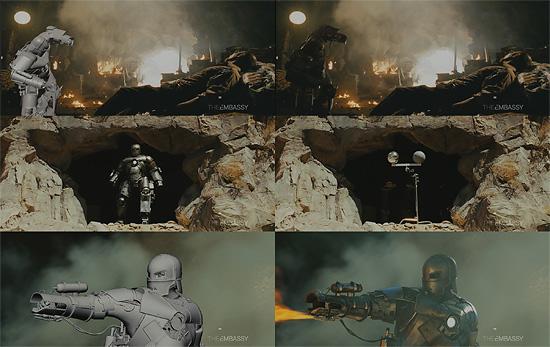 【3DCG】 映画『IRONMAN(アイアンマン)』マーク1のCGメイキング