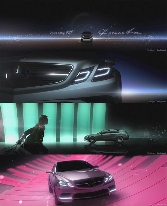 【タレコミ】メルセデスベンツのコンセプトカーのCGムービー