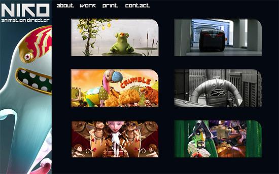 【3DCG】 フリーのアニメーションディレクター『NIKO』氏のHP