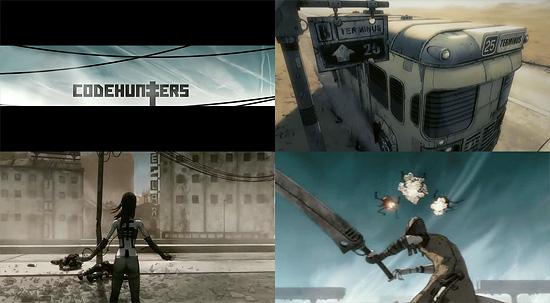 【タレコミ】 独特な絵が特徴的 MTV Asia CG作品『Codehunters』