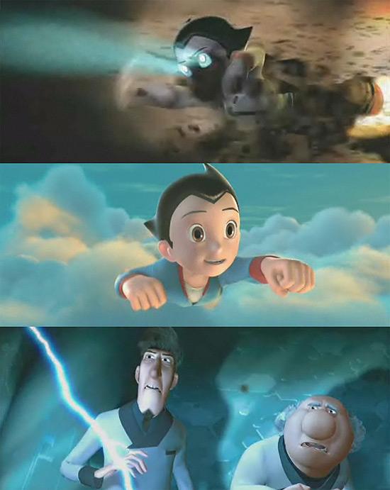 【タレコミ】 え!この方がお茶の水博士?フル3DCG映画『Astro Boy(鉄腕アトム)』トレーラー公開