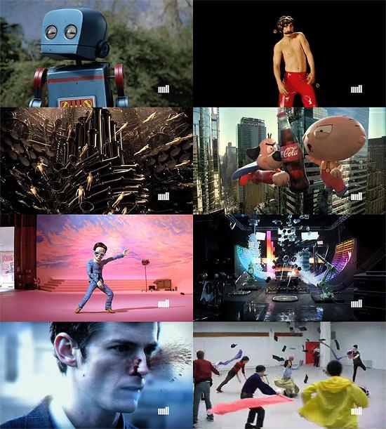 【3DCG】 海外プロダクション 『The Mill』 2009デモリール