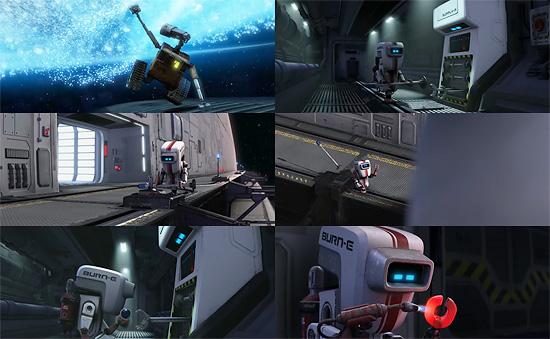 【3DCG】 PIXAR『WALL-E(ウォーリー)』本編と絡んだショートフィルム