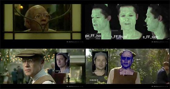 【3DCG】 いかにして老人の顔が出来上がったか 映画『ベンジャミン・バトン 数奇な人生』ブレイクダウン Part2