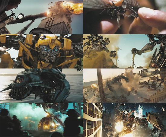【3DCG】 映画『トランスフォーマー2』の第2弾トレーラーが公開される