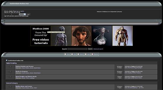 【3DCG】 Mudbox専用のフォーラム『Mudbox Hub(マッドボックス ハブ)』がオープン
