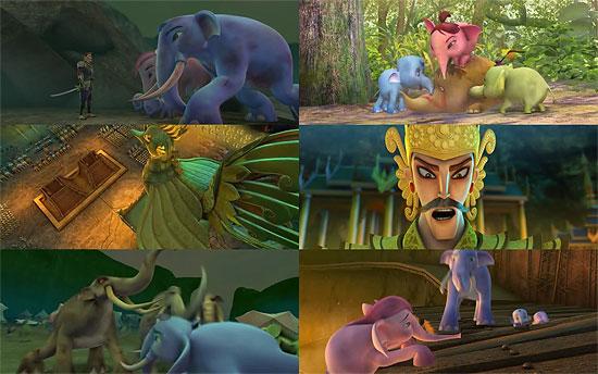 【3DCG】 タイ初のフル3DCGアニメーション『カーンクルアイ』