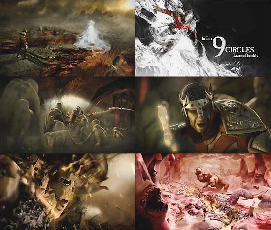 【3DCG】 パーティクルシュミレーションに、3dsMaxとHoudiniを使用した『Dante's Inferno』CGムービー