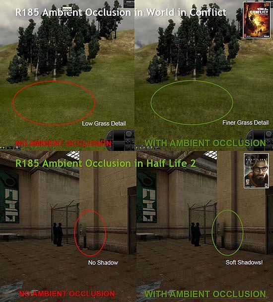 【3DCG】 NVIDIAのグラボが、ゲーム中のアンビエントオクルージョン追加に対応