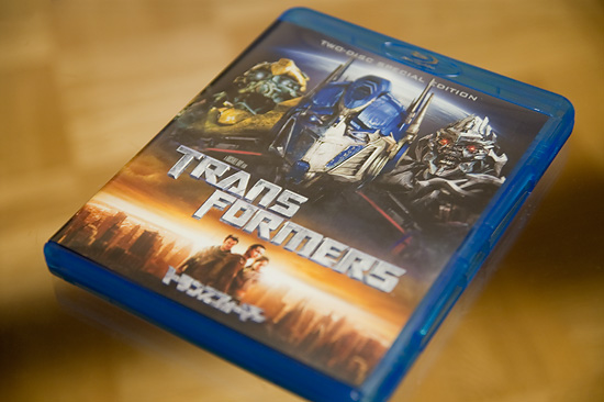 【その他】 BD版『トランスフォーマー』が発売前日に届いたので早速観てみた