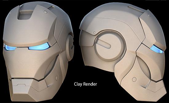 【3DCG】 IRONMANのマスクをモデリングするチュートリアル