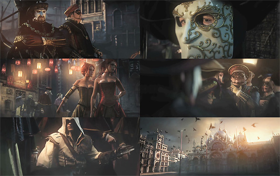 【3DCG】 目の質感まで自然だぁ。ゲーム『Assassin's Creed 2』の3DCGムービー